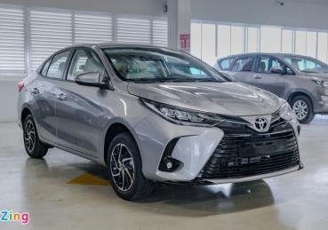 Toyota Vios 2021 được giảm giá tại đại lý